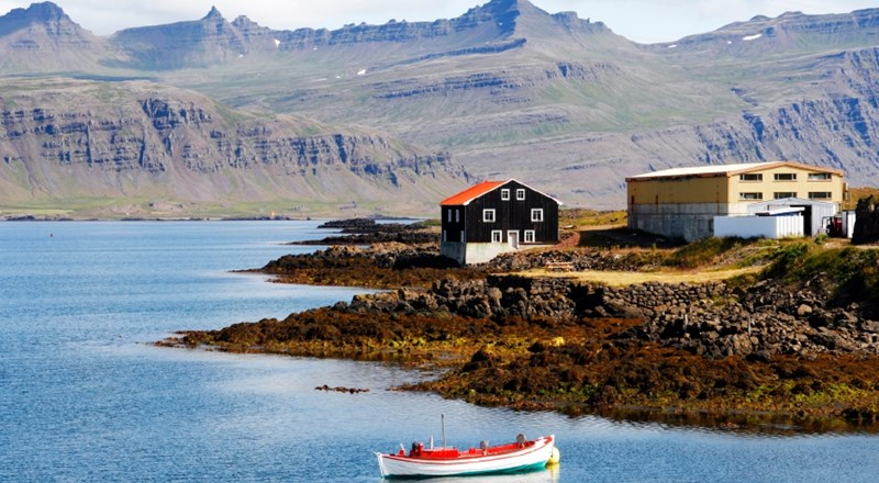Mountain town in Eastern Iceland