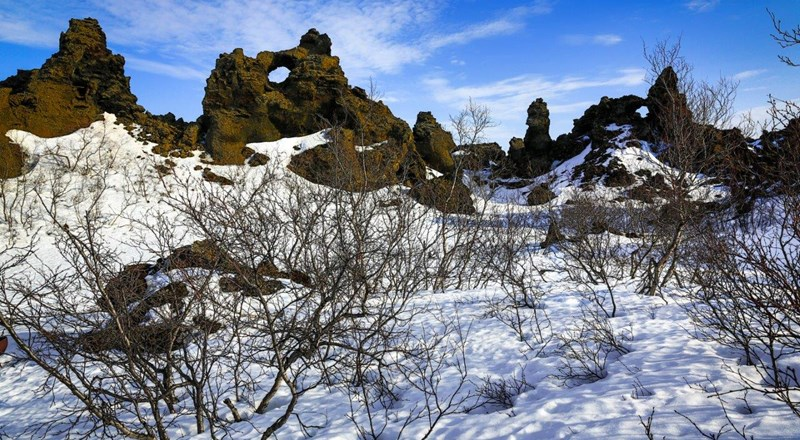 DimmuBorgir rock formation in Iceland.jpg