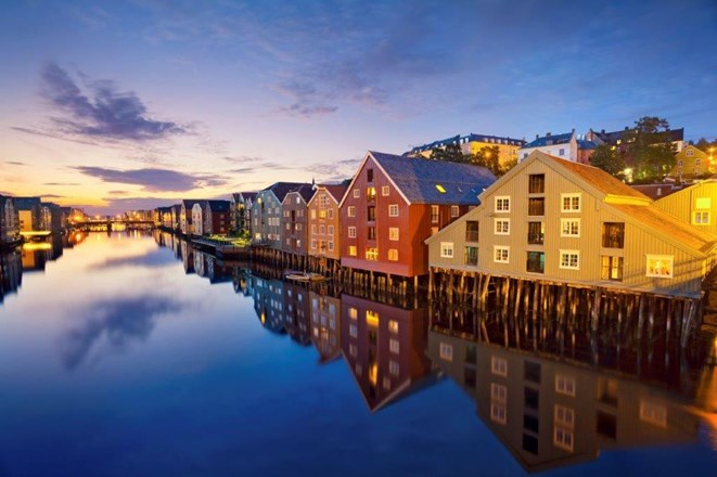 Trondheim city in Norway.jpg