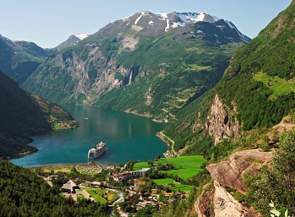 Geiranger Fjord with cruise ship, Norway.jpg